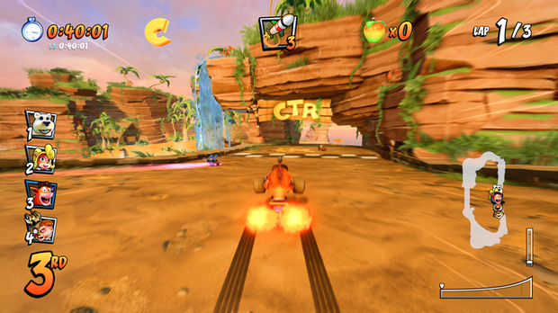 CTR, Crash TEam Racing, CTR PS4, Crash Team Racing Nitro-Fueled, Arvostelu