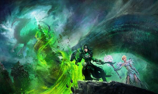 Guild Wars, Guild Wars 2, End of Dragons, laajennus, ArenaNet, mmo, verkkopeli, verkkoroolipeli,
