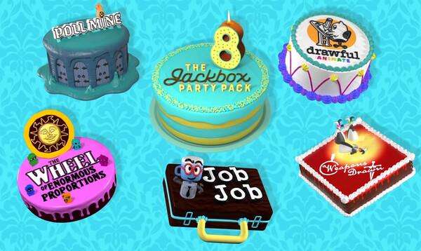 The Jackbox Party Pack 8, The Jackbox Party Pack, Jackbox Games, bilepeli, julkaisupäivä