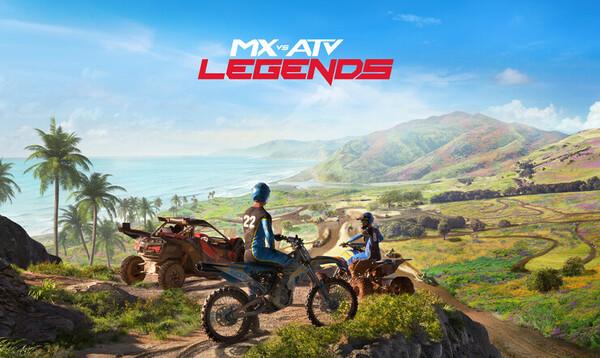 MX vs. ATV Legends, Mx vs ATV, Thq nordic, ajopeli, rainbow studios, ajopeli,