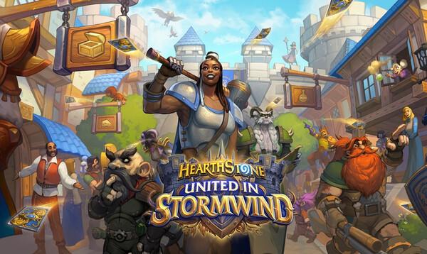 Hearthstone, korttipeli, Blizzard, Blizzard Entertainment, Lightbringer's Hammer, United in Stormwind