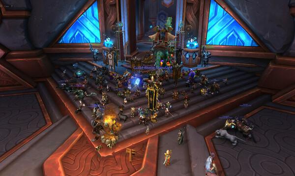 World of Warcraft protesti Activision Blizzardia vastaan