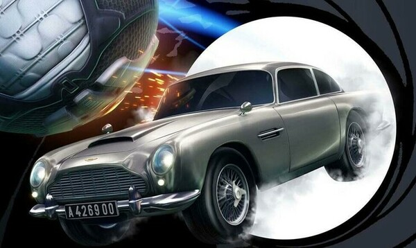 Rocket League James Bond 007 Aston Martin