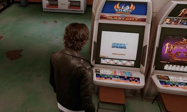 Lost Judgment, Yakuza sivuosa, Sega Sonic the Fighters