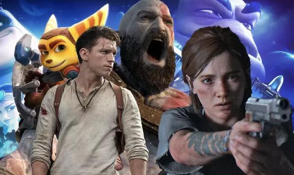 Sony videopelielokuvat ja sarjat