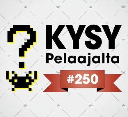 Pelaajacast 250 tällä viikolla – lähetä kysymyksesi Kysy Pelaajalta -osioon
