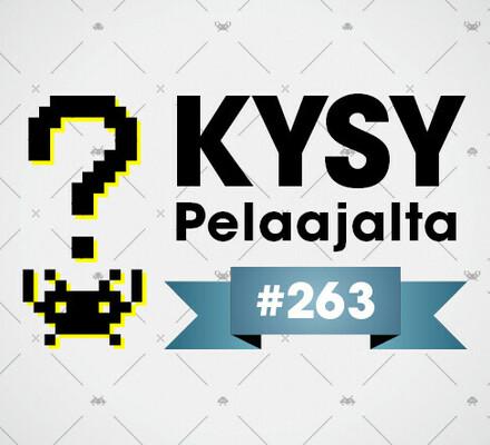 Pelaajacast 263 taas torstaina – Kysy Pelaajalta keskiviikkoon mennessä!