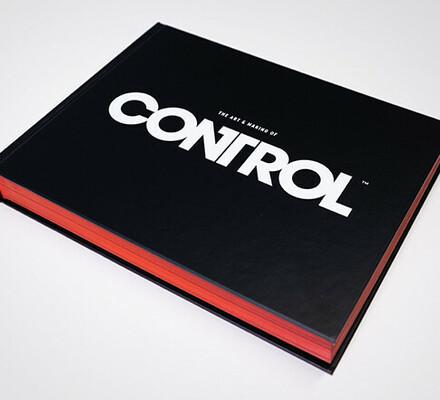 Kilpailu: Voita näyttävä The Art and Making of Control -taidekirja!