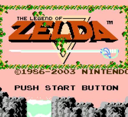 Retrostelussa The Legend of Zelda
