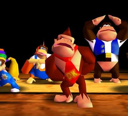 Retrostelussa Donkey Kong 64
