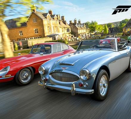 KISA: Voita tehokas Xbox One X -konsoli ja Forza Horizon 4 -peli!