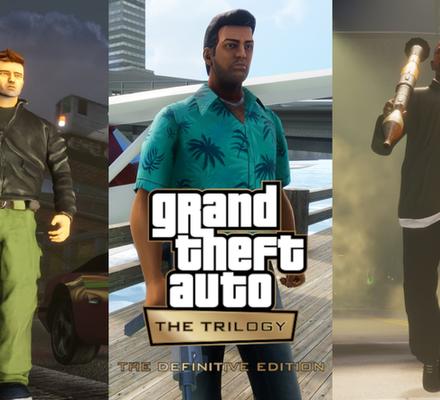 Grand Theft Auto: The Trilogy - The Definitive Edition, Grand Theft Auto: The Trilogy, The Definitive Edition, grand theft auto, gta, GTAIII, Grand Theft Auto III, san andreas, Vice City, rockstar, rockstar games, Remaster, julkaisupäivä