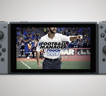 Heinä-elokuun kisa: VOITA Football Manager Touch 2018 -peli + Nintendo Switch -konsoli!