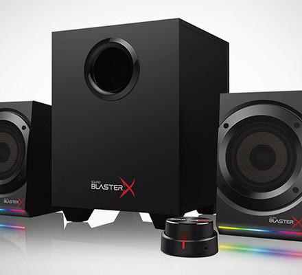 Joulukuun kisa: Voita Sound BlasterX Kratos S5 -pelikaiuttimet!