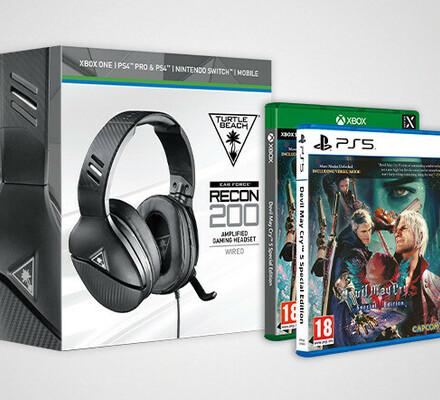 Joulukuun kisa: Voita uuden sukupolven Devil May Cry 5 ja Turtle Beach -pelikuulokkeet!