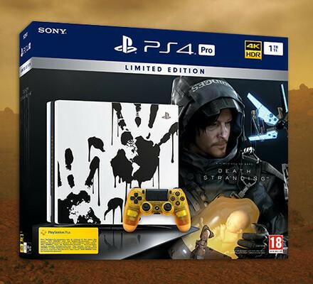 Marraskuun kisa: Voita PS4 Pro -konsolin upea Death Stranding -erikoisversio ja itse peli!