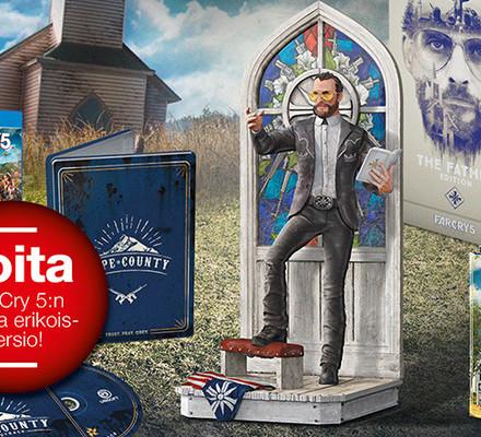 Maaliskuun kisa: VOITA Far Cry 5 -pelin The Father Edition -erikoisversio PS4:lle!