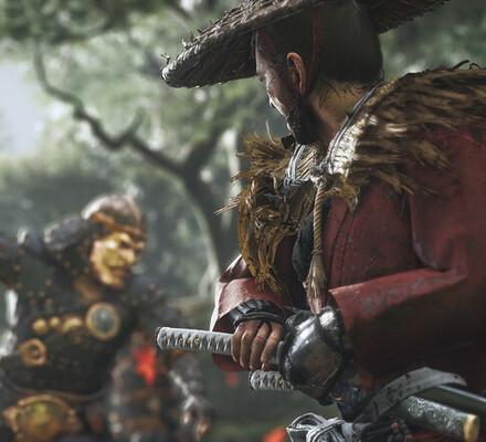 Miekkojen kalinaa ja savupommien suhinaa – tällaista on Ghost of Tsushiman toiminta!