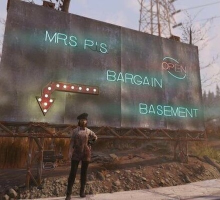 Mrs P's Bargain Basement Fallout 76