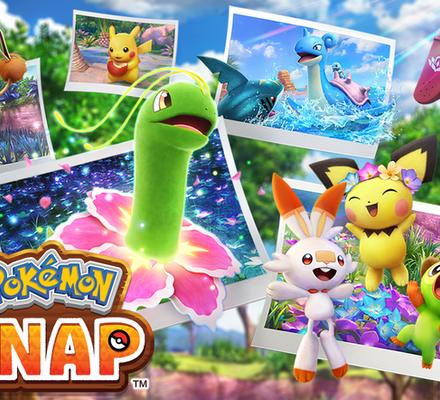 New Pokémon Snap, Pokémon Snap, Pokémon, Bandai Namco, Switch, valokuvaus,