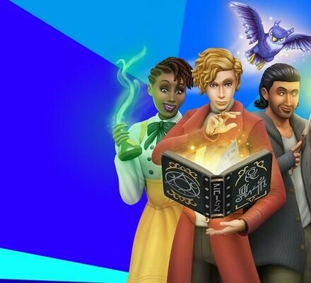 The Sims 4, Noituuksia, Realm of Magic, julkaisupäivä, Game Pack, 10. syyskuuta, lisäosa, EA, Maxis, DLC