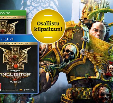 Toukokuun kisa: VOITA Warhammer 40.000: Inquisitor – Martyrin erikoisversio!