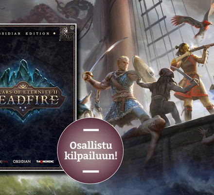 Toukokuun kisa: VOITA Pillars of Eternity II: Deadfiren Obisidian Edition -erikoisversio pc:lle!