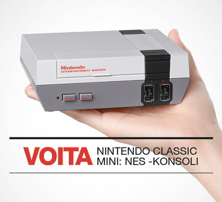 Kesäkuun kisa: VOITA Nintendo Classic Mini: NES -konsoli!