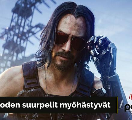 Cyberpunk 2077 ja Final Fantasy VII Remake myöhästyvät – Peliuutisohjelma Uutiskimara tekee paluun