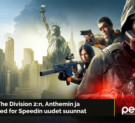 Destiny-haastaja Outriders esittäytyi, The Divison 2 laajenee ja Need for Speed -studiovaihdos – Uutiskimara #20