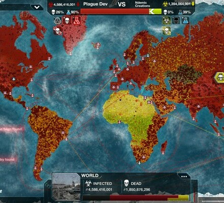 Plague Inc., Ndemic Creations, tauti, virus, pandemia