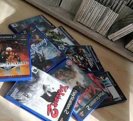 PlayStation 2 -nostalgiaa PS2-pelikokoelmien äärellä