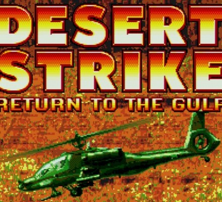 Retrostelussa Desert Strike