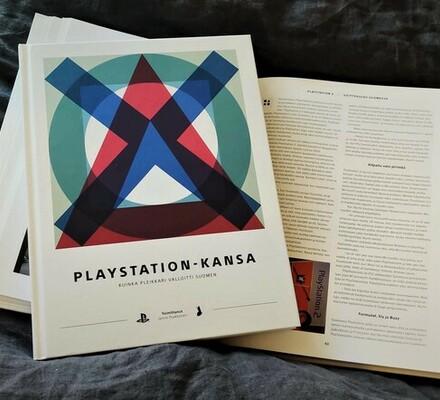 Uusi Pelaaja-kirja PlayStation-kansa on ilmestynyt!