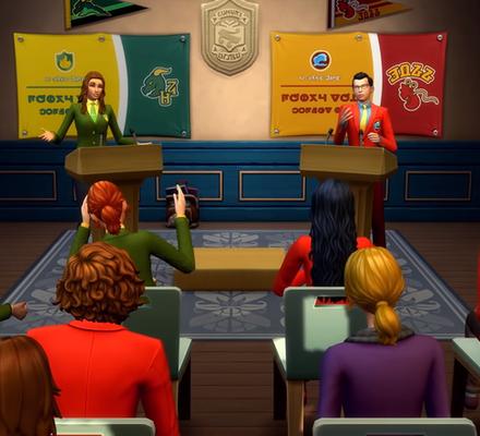 Tiesitkö? Simien outoa kieltä kuultiin peleissä jo ennen ensimmäistä The Simsiä