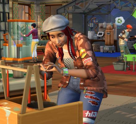 Virtuaali-ihmisten ilmastotalkoot – ennakossa The Sims 4 Ekoelämää