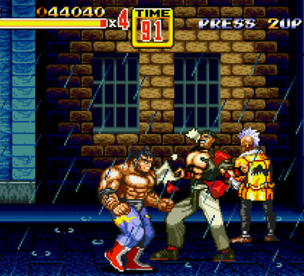 Retrostelussa Streets of Rage 2 – Mega Driven paras soundtrack, historian paras tappelupeli