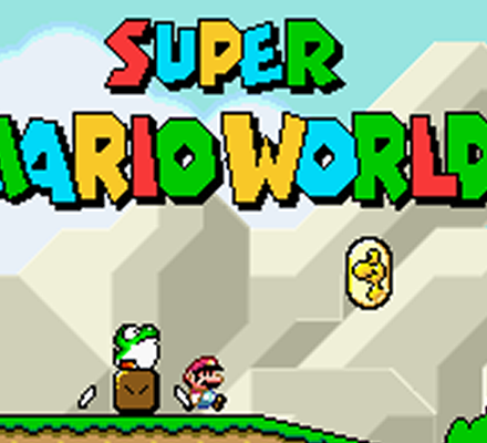 Retrostelussa Super Mario World