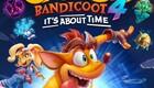 Crash Bandicoot 4: It's About Timen PS4-kansikuvitus.