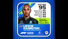 Lewis Hamilton Kokemus: 92 Kisataidot: 94 Tietoisuus: 89 Kisanopeus: 98 Kokonaispisteet: 95