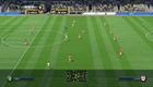 Vähän kauempaa katsottuna ottelu näyttää aivan tv-lähetykseltä. Pelaajien animaatio kuitenkin tökkii välillä, mikä rikkoo immersiota pahasti.