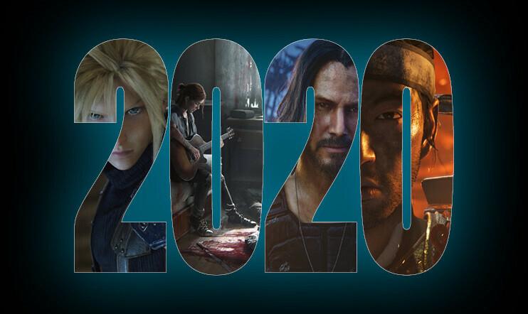Katsauksessa 20 peliä vuodelle 2020