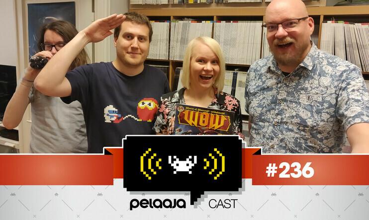 Pelaajacast 236: World of Warcraft -castin vieraana Pelaajan graafikko Minna Erkola