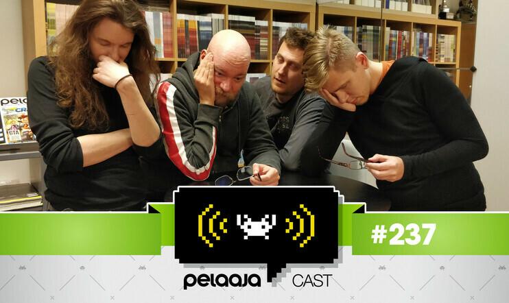 Väsynyttä läppää videopeleistä ja Outoja Juttuja – Pelaajacast 237 katsottavissa nyt videona
