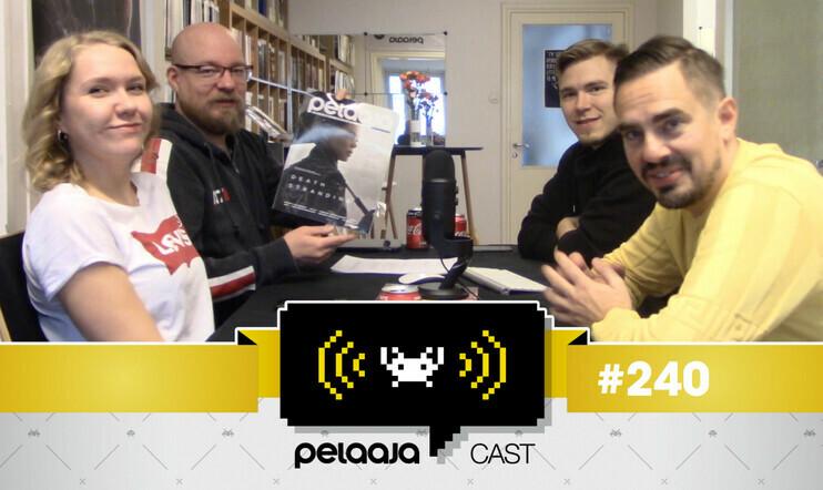 Pelaajacast 240 nyt videona – studiossa Pelaaja-lehden uusi, väistyvä ja vanha päätoimittaja