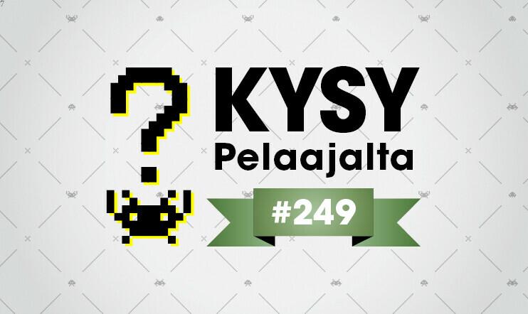 Pelaajacast 249: Kysy Pelaajalta