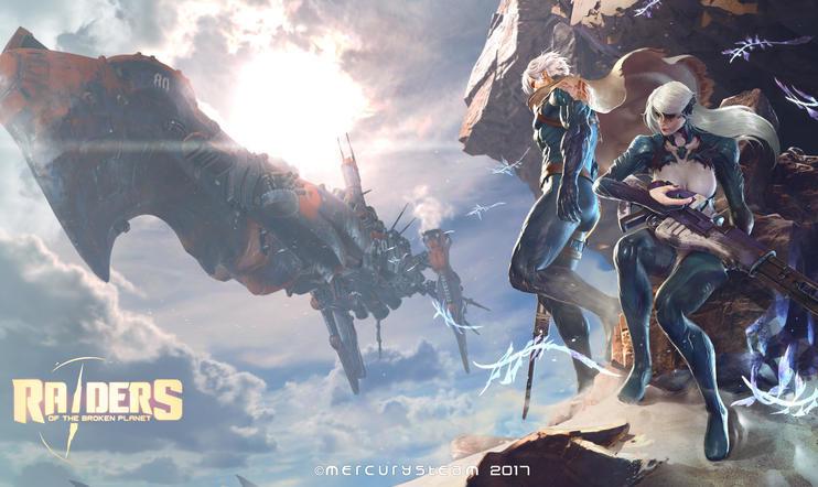 Raiders of the Broken Planet uudistaa räiskintäpelikaavoja ja pelialan julkaisum