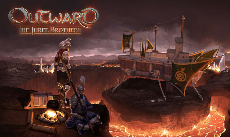The Three Borthers, Outward, Nine Dots Studio, Deep Silver, roolipeli, RPG, survive, selviytyminen, miljoona