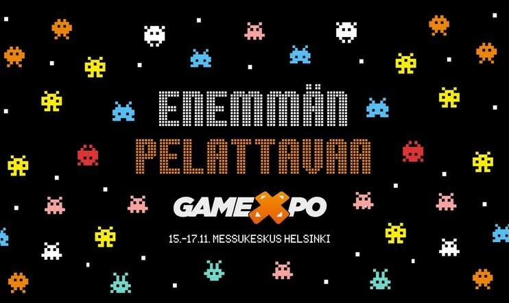 Voita ilmaislippu Helsingin Messukeskuksen tuleville GameXpo 2019 -pelimessuille!
