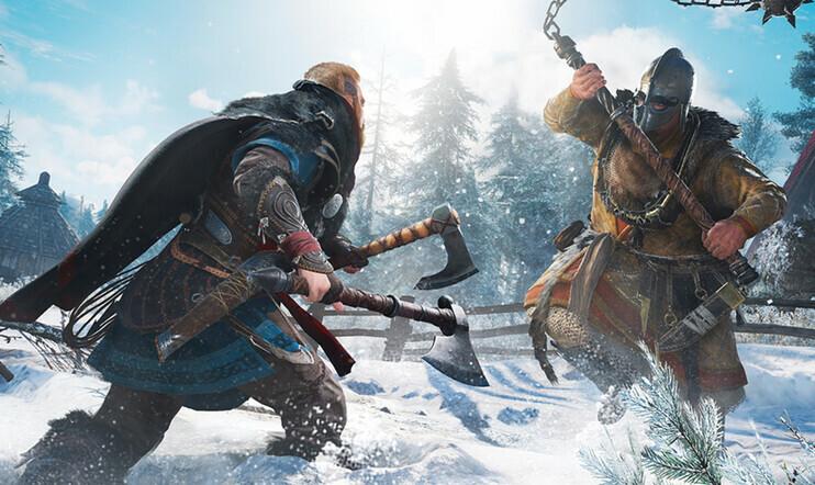 Assassin's Creed Valhalla -pelikuvaa vuodettiin verkkoon.